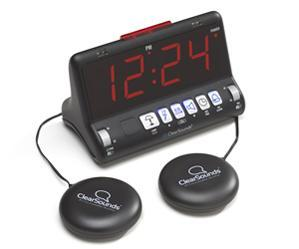 ClearSounds SW200 Shake Up to Wake Up Dual Alarm Clock