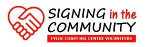 Signing in the Community
