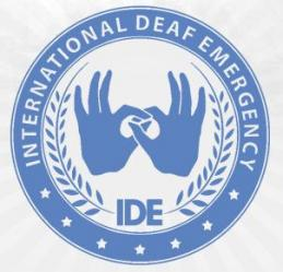 International Deaf Emergency (IDE)